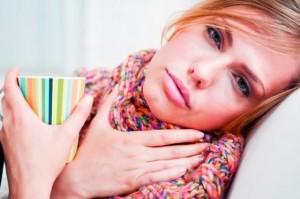 Полоскание горла при фарингите у беременных