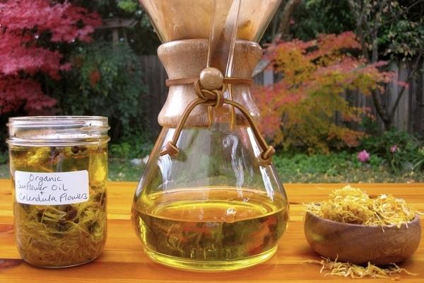 Рецепты настойки календулы при ангине