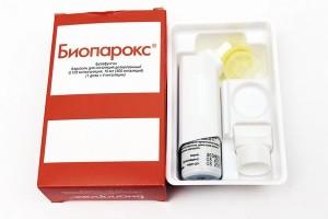 Биопорокс для горла при ларингите