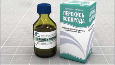 Перекись водорода при лечении ангины