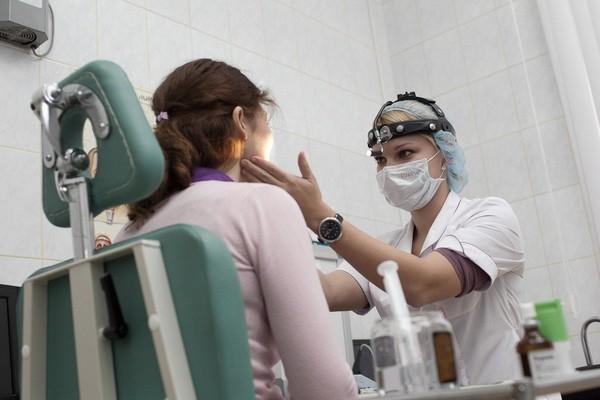 Лечение ларингита врачом