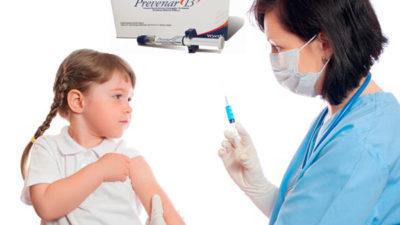 Прививка от отита Превенар